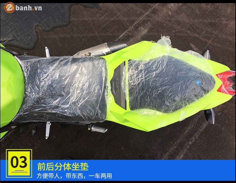 Choang ngop voi BMW S1000RR Made in China voi ten goi BD3505A - 5