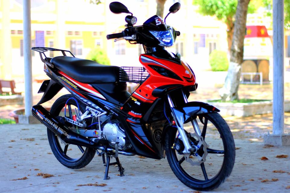 Exciter 135 do nhe khoe than cuoi con hem vang nguoi - 6