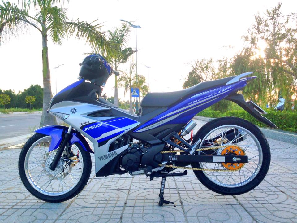 Exciter 150 do gon gang voi dan chan luoi lao than toc - 3