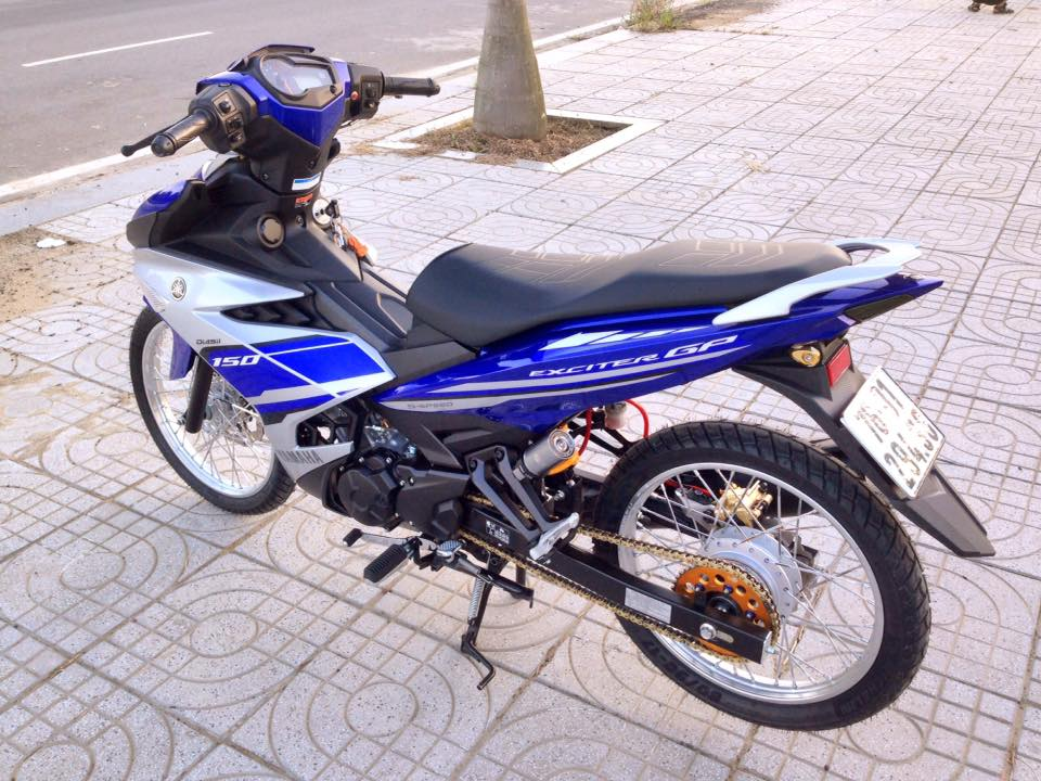 Exciter 150 do gon gang voi dan chan luoi lao than toc - 7