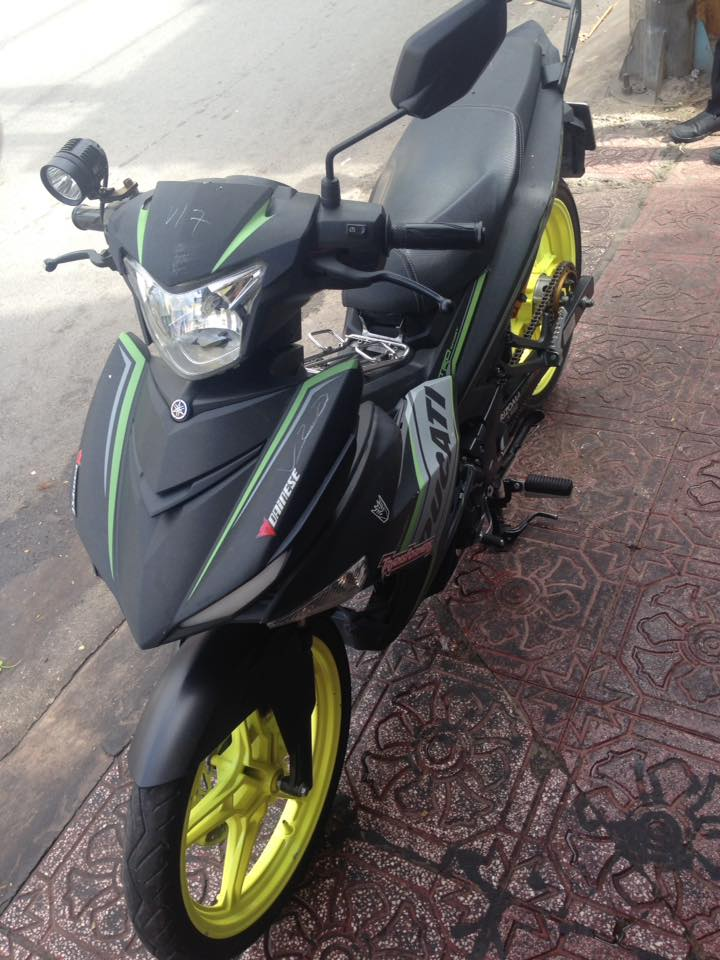 Exciter 150 do nhe voi dan chan day sang choi - 3
