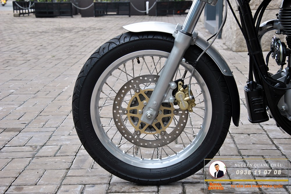 Royal Enfield Continental GT Red Mau Do - 8