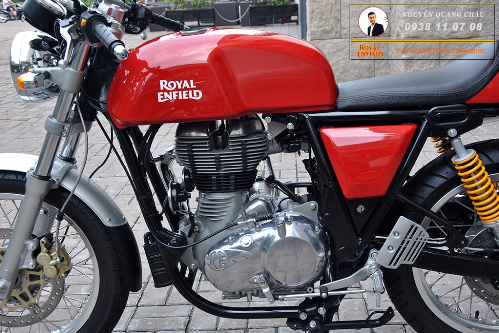 Royal Enfield Continental GT Red Mau Do - 10