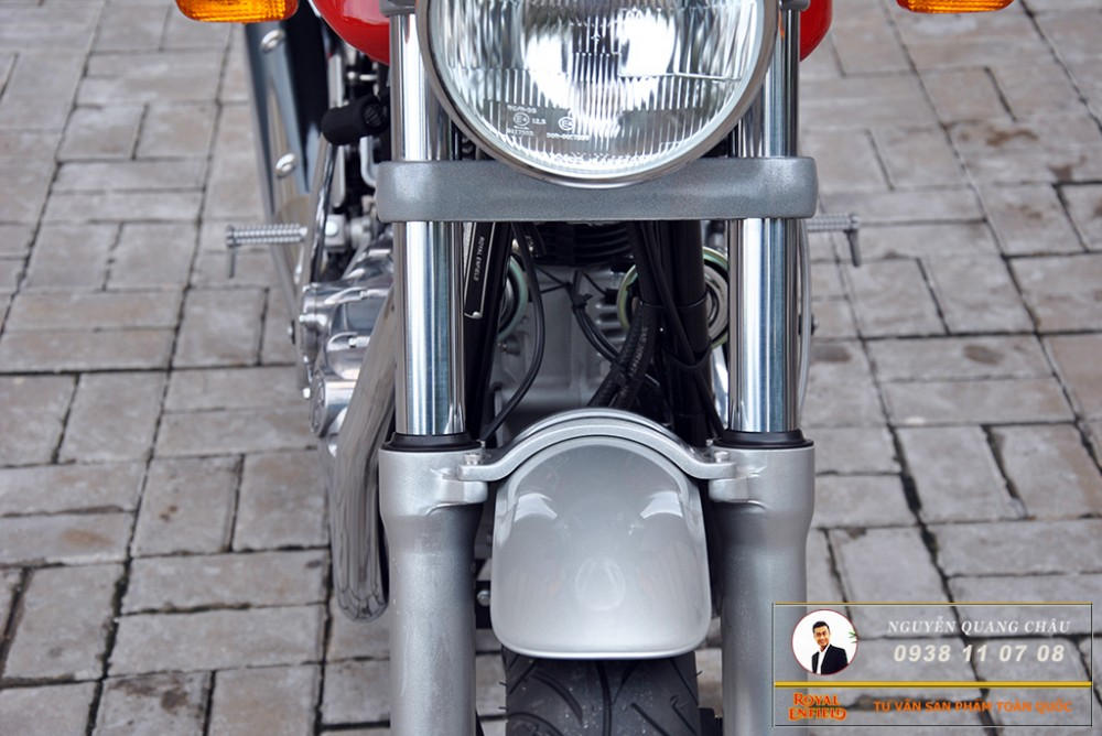 Royal Enfield Continental GT Red Mau Do - 12