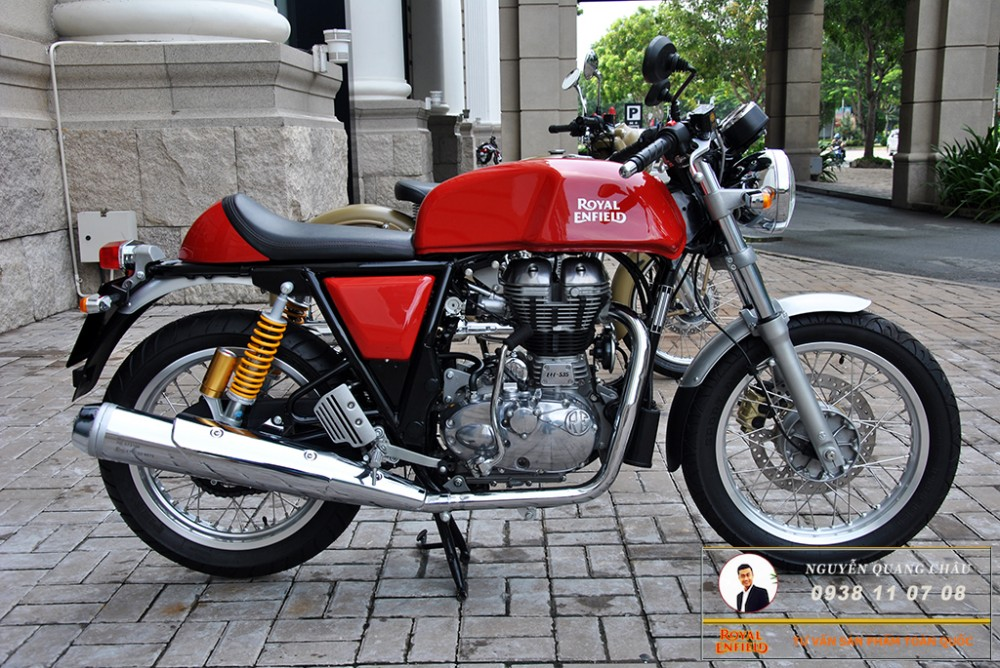 Royal Enfield Continental GT Red Mau Do - 14