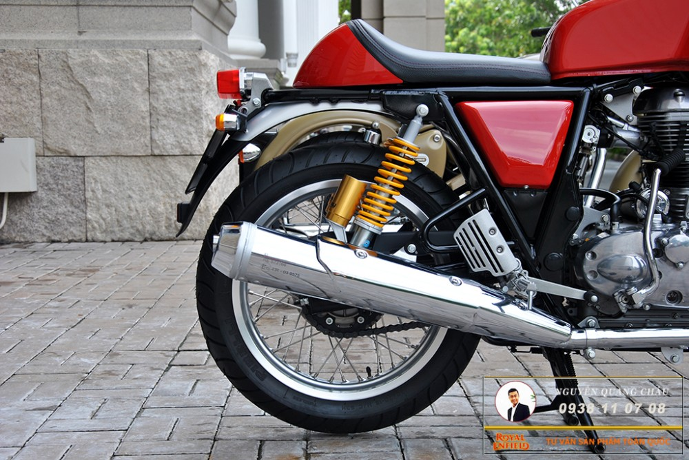 Royal Enfield Continental GT Red Mau Do - 16