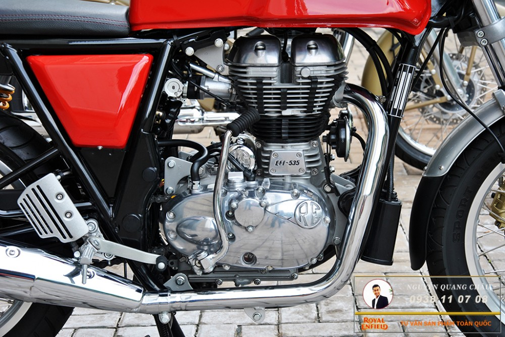 Royal Enfield Continental GT Red Mau Do - 18