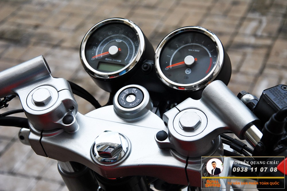 Royal Enfield Continental GT Red Mau Do - 20