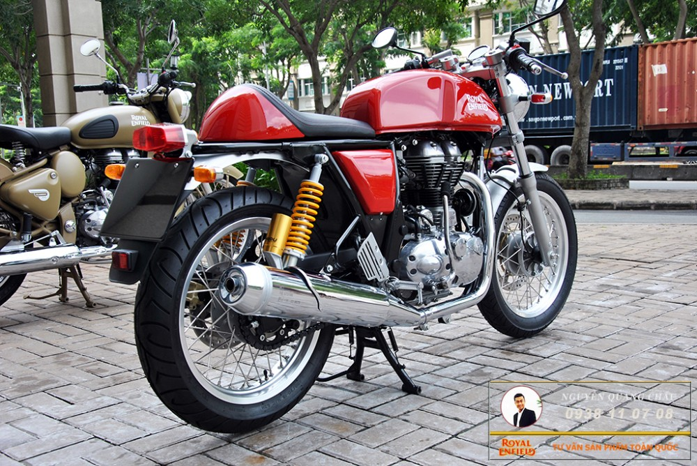 Royal Enfield Continental GT Red Mau Do - 24