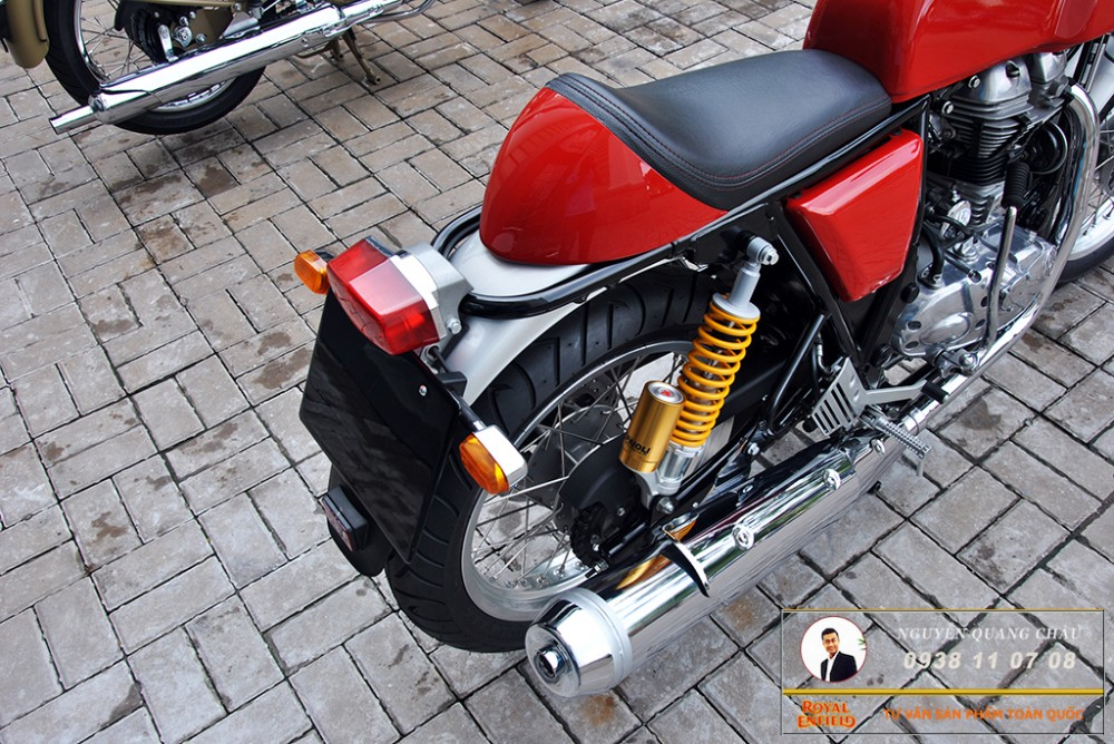 Royal Enfield Continental GT Red Mau Do - 26