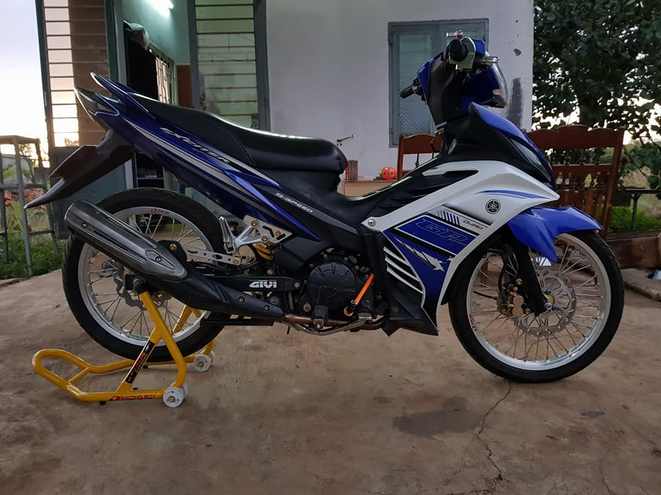 Exciter 135 do suy dinh duong voi dan chan mong manh - 3