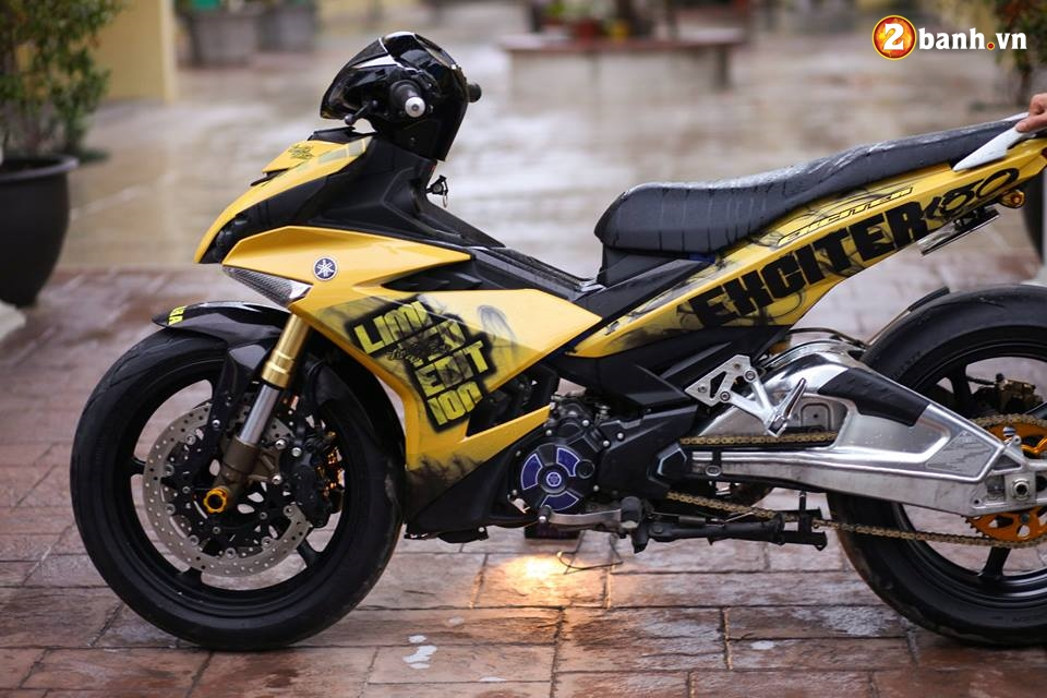 Exciter 150 do buc pha cach choi voi dan chan full Option PKL trong version Limited edition - 3