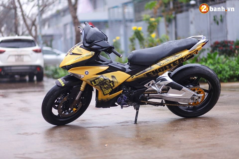 Exciter 150 do buc pha cach choi voi dan chan full Option PKL trong version Limited edition - 8