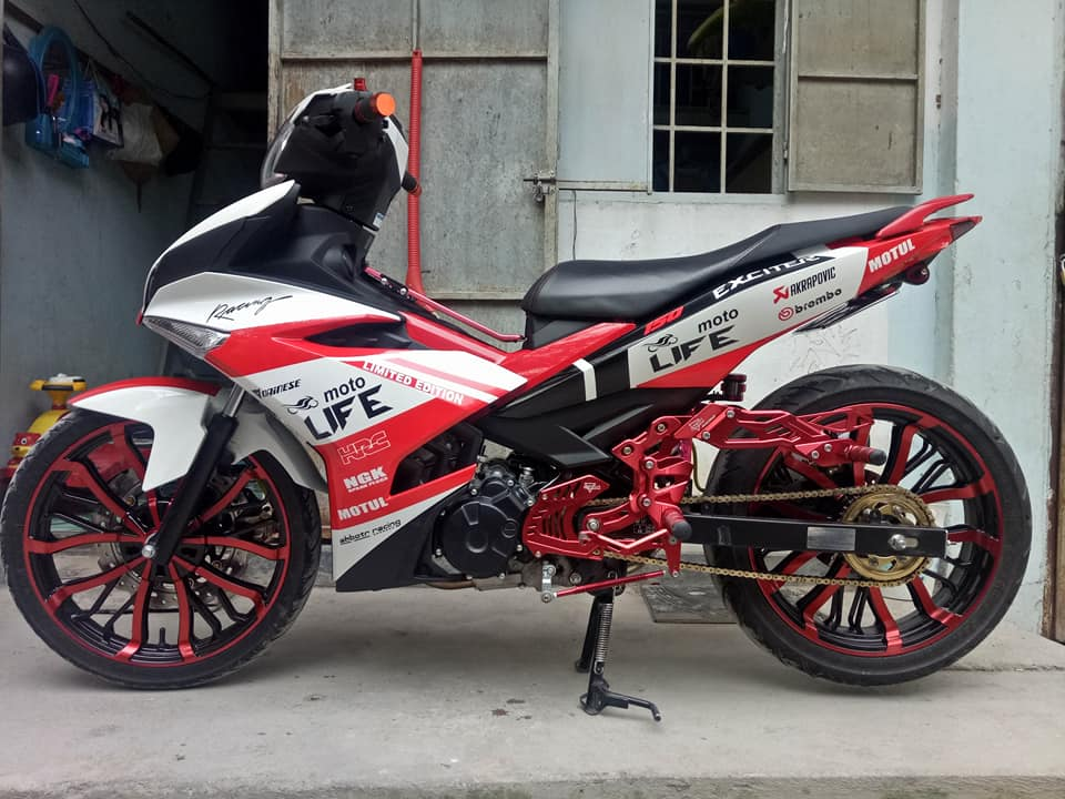 Exciter 150 do dep nhat day phong tro cua biker Dong Thap - 3