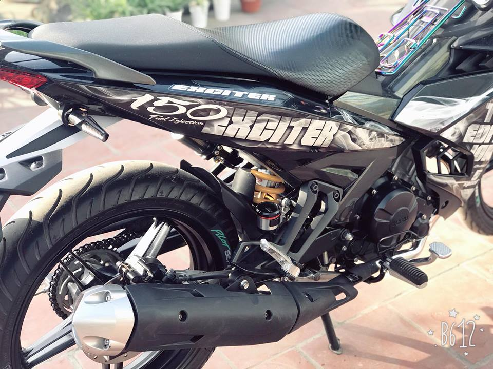 Exciter 150 do nhe nhang gay an tuong voi bo canh Limited Edition - 7