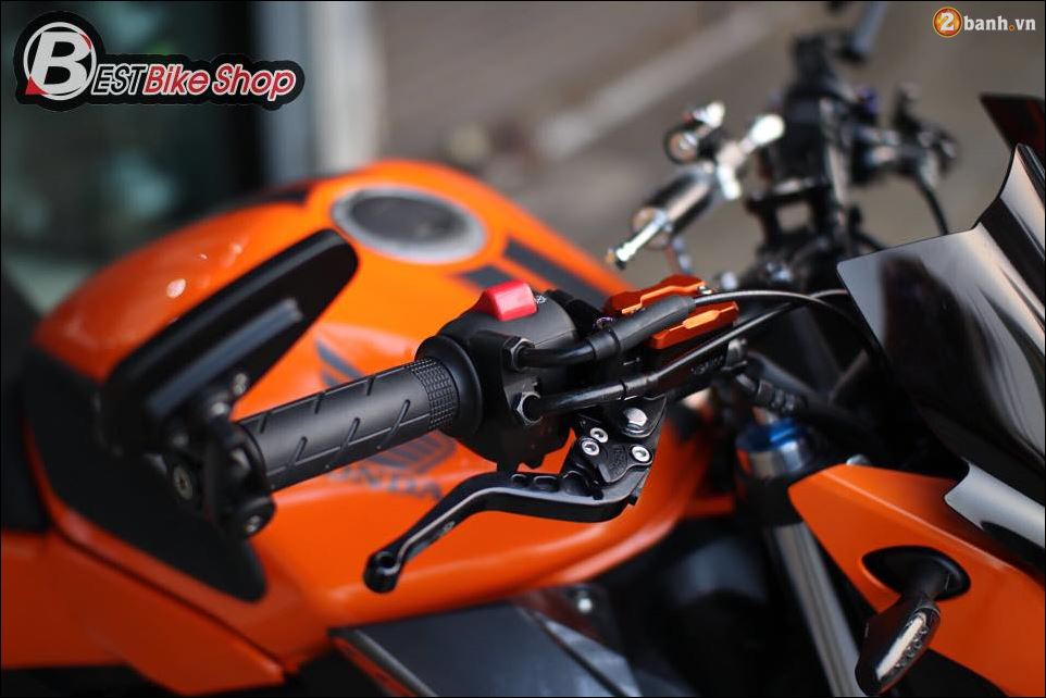 Honda CB500F do xuat sac qua Version con loc mau da cam - 5