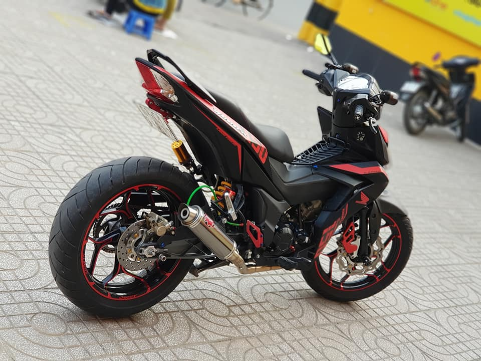 Winner 150 do chat ngat ngay voi gap KTM 390 cua biker Viet - 7