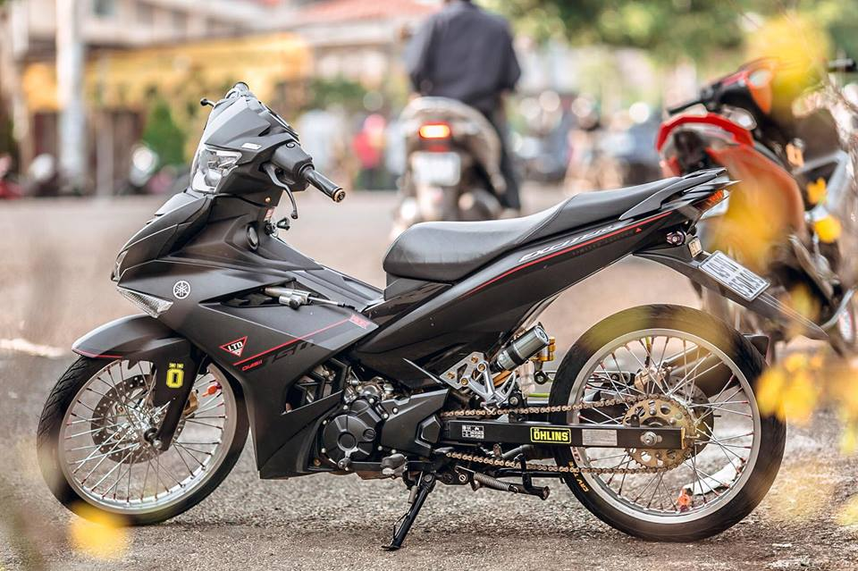 Exciter 150 do dan chan so ke su mong manh cung Exciter 135 - 3