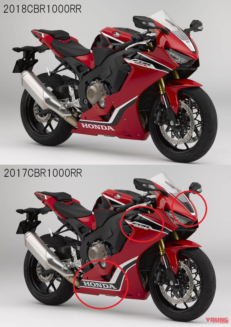 So sanh CBR1000RR 2018 va CBR1000RR 2017 Co gi moi - 2