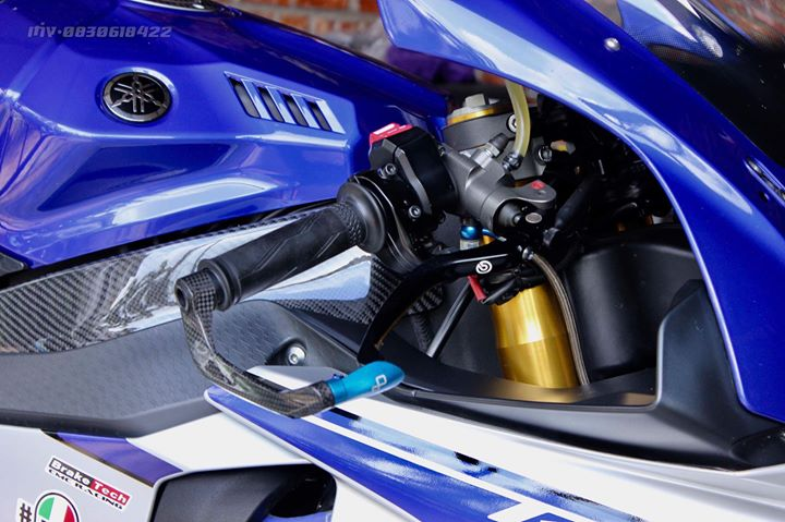 Yamaha R1 Superbike do khung full option tai xu Thai - 5