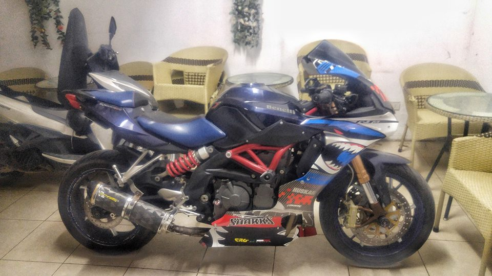 Benelli BJ600GS ban do day sang tao voi than hinh Yamaha R1 - 9