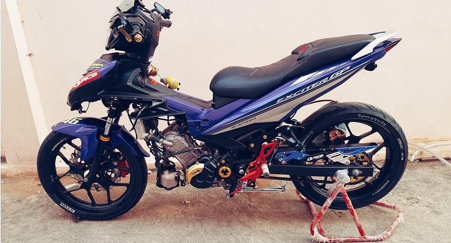 Exciter 150 do cuc chat voi option do choi Racing boy cua biker nuoc ban - 9