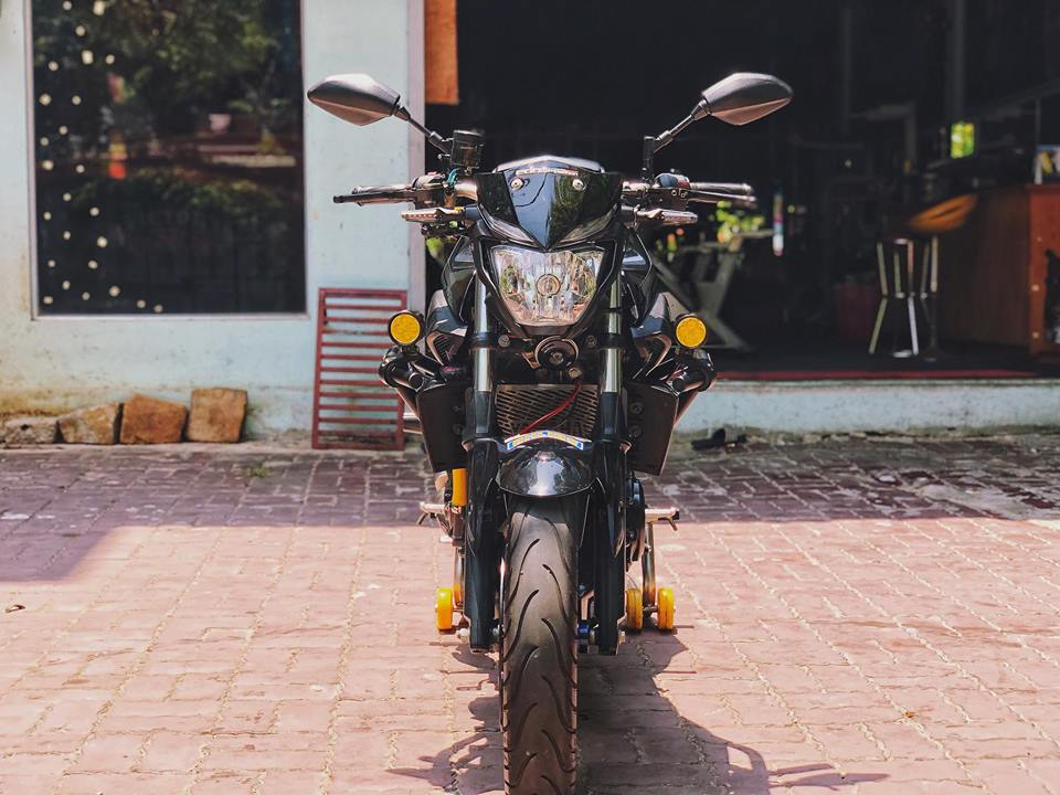 Ngam nhin Yamaha MT03 do full option tren dat Viet - 3