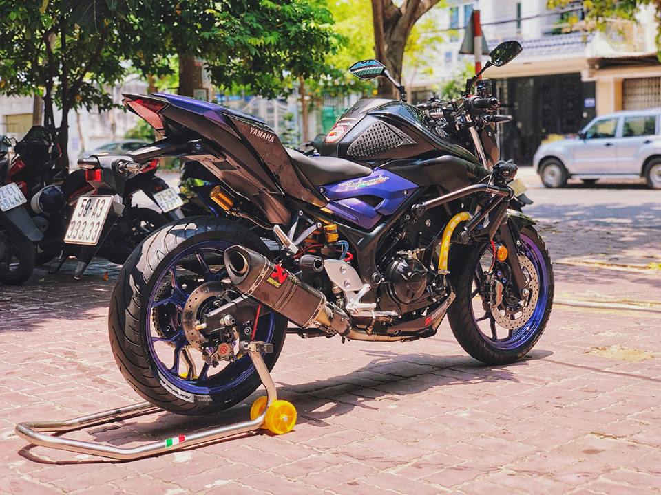 Ngam nhin Yamaha MT03 do full option tren dat Viet - 10