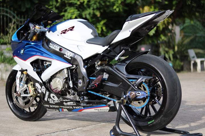 BMW S1000RR Ca map tren can do cuc chat tren dat Thai - 9