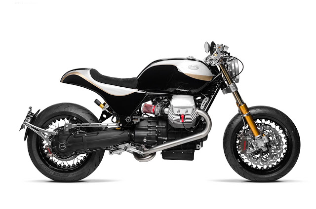 Moto Guzzi Bellagio ban do mang ten The Phoenix den tu South Garage - 6