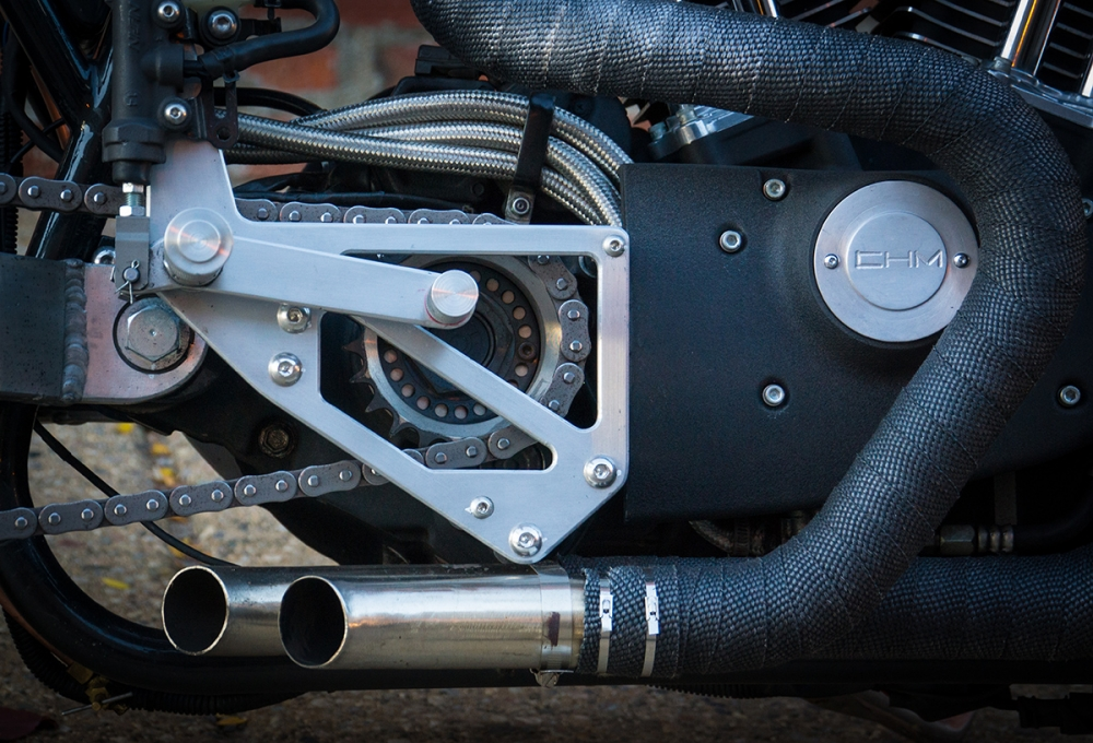 HARLEY SPORTSTER do an tuong voi phong cach CAFE RACER - 5