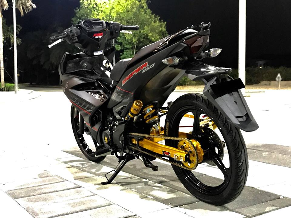 Yamaha Y15ZR do mam 3 dao cung phong cach Sniper 150 vo cung an tuong - 5