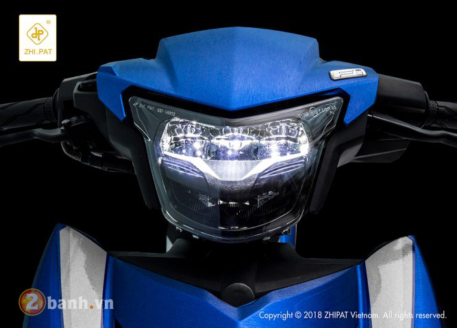 Den pha LED 2 tang Yamaha Exciter 150 Sporty 2019 moi - 2