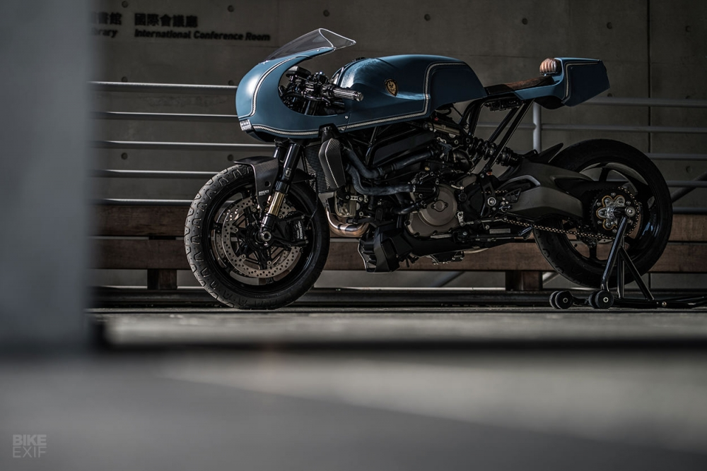 Ducati Monster 1200 S do cafe racer theo phong cach Sportclassic