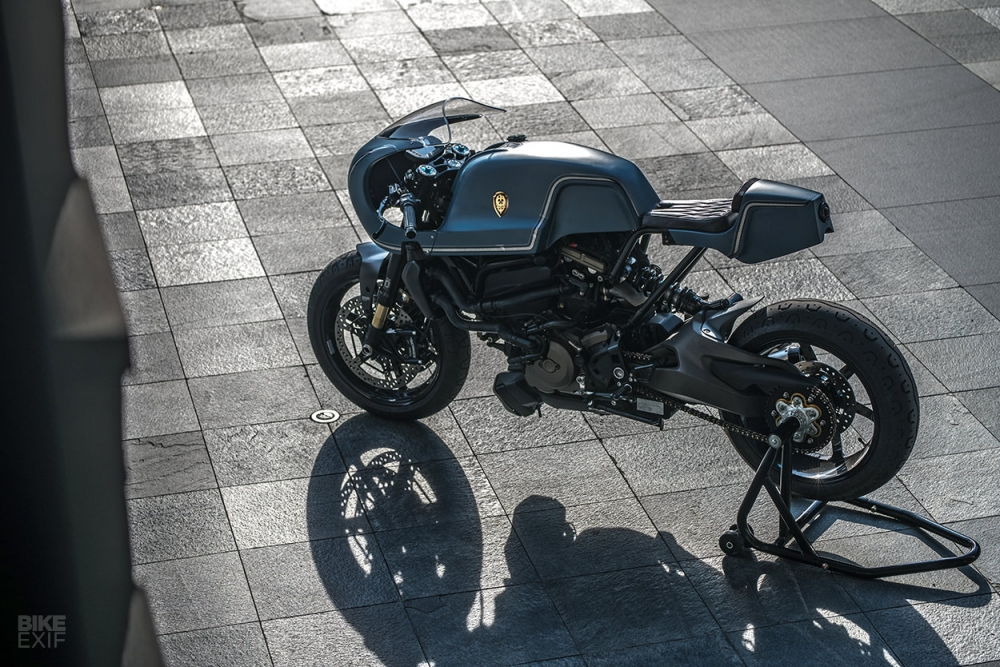 Ducati Monster 1200 S do cafe racer theo phong cach Sportclassic - 4
