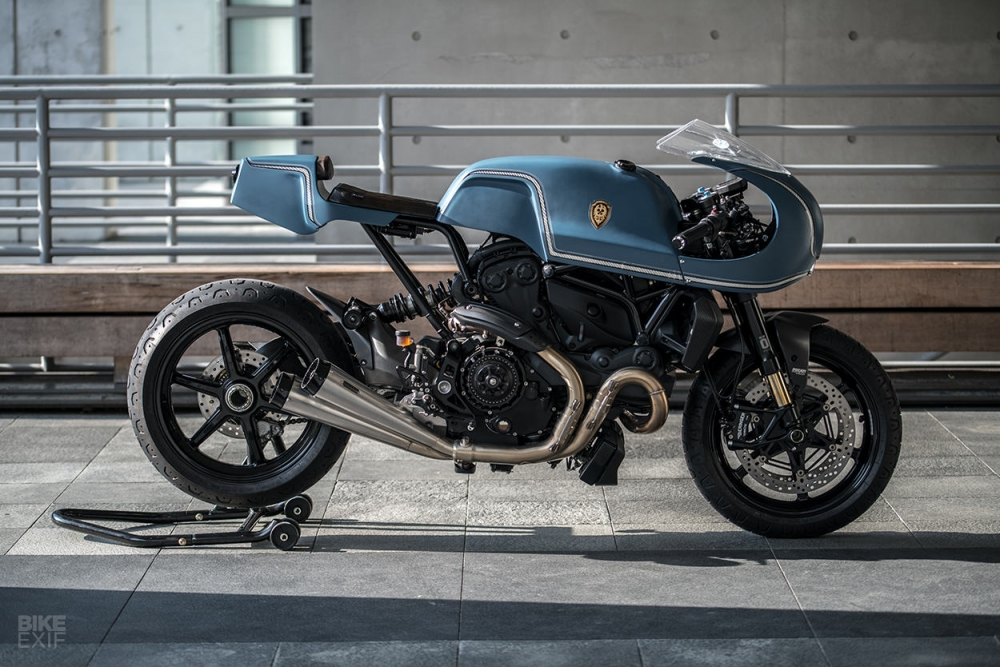 Ducati Monster 1200 S do cafe racer theo phong cach Sportclassic - 10