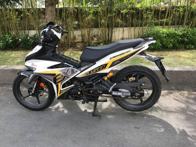 Exciter 150 do mo phong theo phien ban Y15zr day la mat - 3
