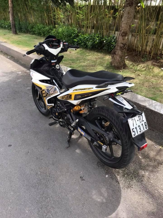 Exciter 150 do mo phong theo phien ban Y15zr day la mat - 5