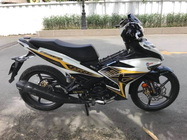Exciter 150 do mo phong theo phien ban Y15zr day la mat - 7