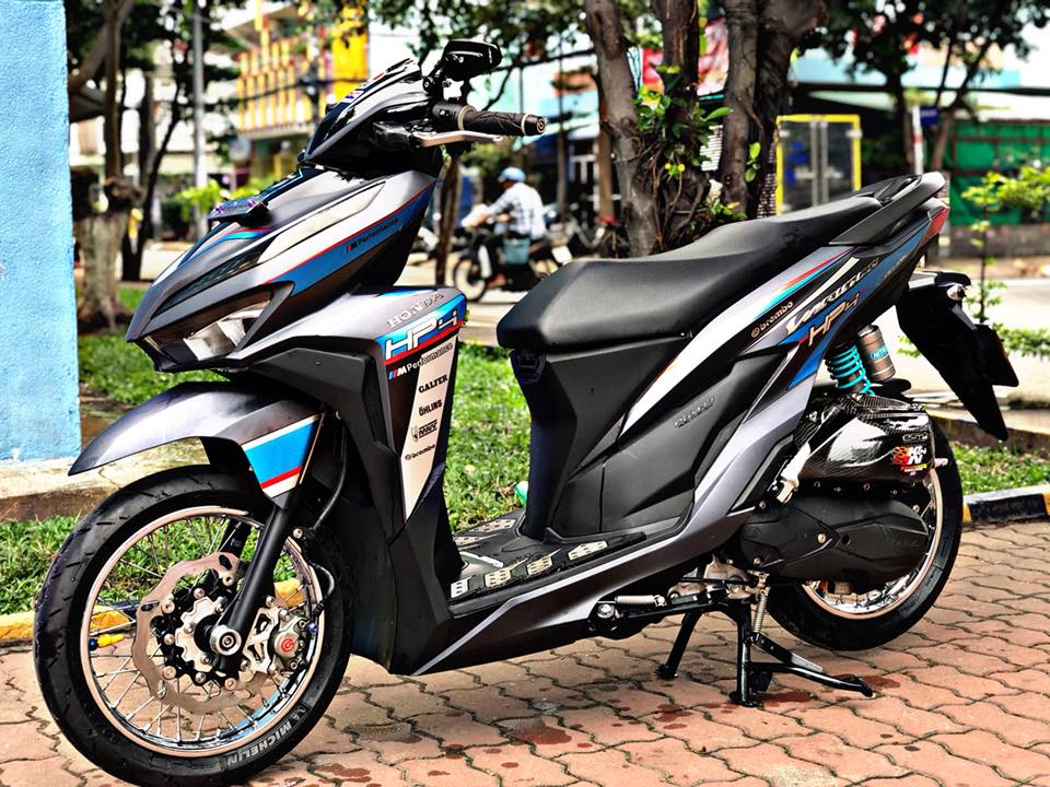 Vario 150 2018 do giam xoc Anh Quoc cung hoi tho MIVV lanh lung khoe dang giua pho - 7