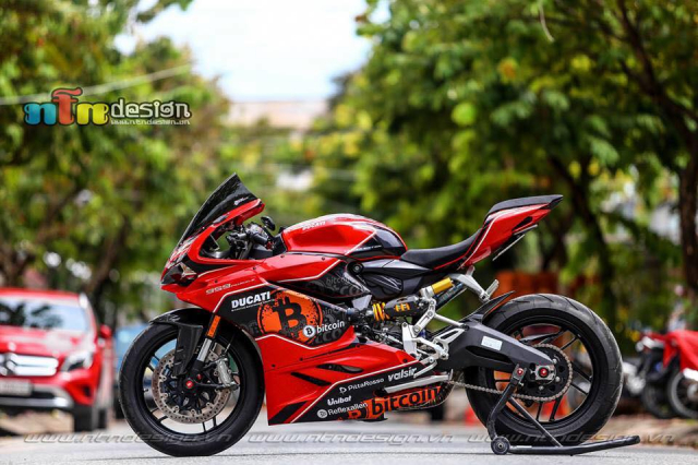 Ducati 959 Panigale do chat choi theo phong cach Bitcoin - 3