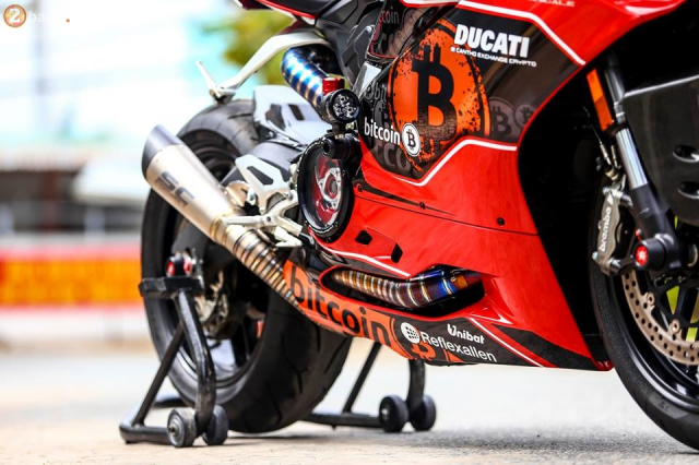 Ducati 959 Panigale do chat choi theo phong cach Bitcoin - 10