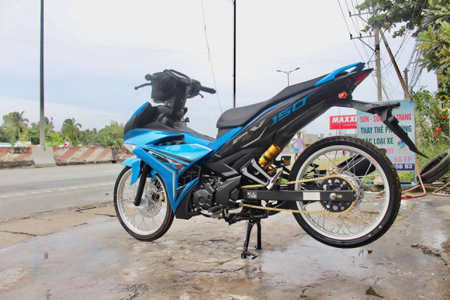 Exciter 150 do don nhe voi dan chan banh chi cuc dinh - 6