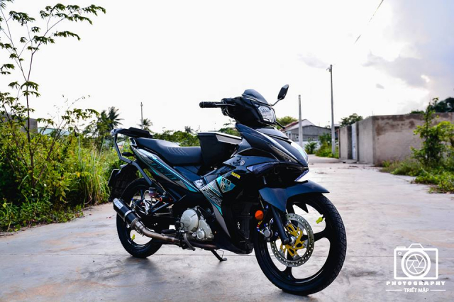 Exciter 150 do up phong cach Y15zr ket hop cung mam 3 dao dang hot - 3