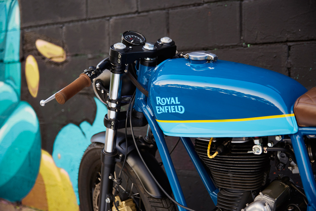 Royal Enfield Continental GT tuy chinh dac biet mang phong cach Cafe Racer - 9