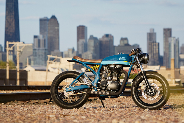 Royal Enfield Continental GT tuy chinh dac biet mang phong cach Cafe Racer - 11