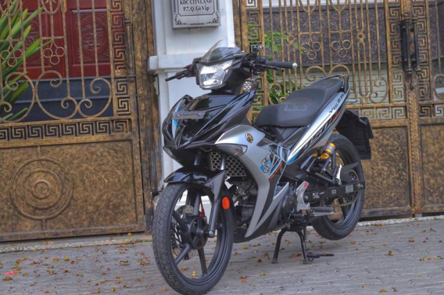Exciter 150 do hoan hao voi Phong cach Y15ZR Malaysia day quyen ru