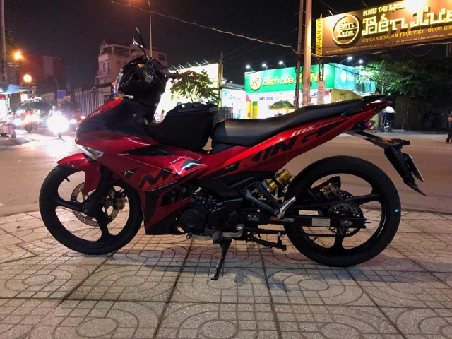 Exciter 150 do phong cach Jupiter MXKing Indonesia day an tuong - 7