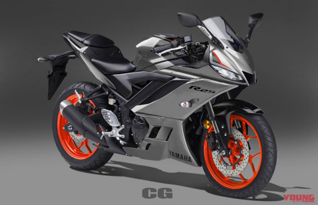 Lo anh Yamaha R25 2019 voi 5 sac mau moi dam chat the thao - 6