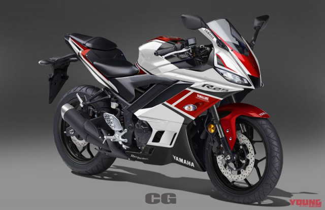 Lo anh Yamaha R25 2019 voi 5 sac mau moi dam chat the thao - 4